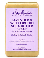 Shea Moisture Lavender & Wild Orchid Shea Butter Soap 8 oz