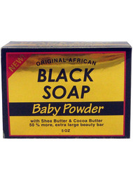 Sunflower Black Baby Powder 5 oz