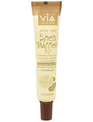 Via Natural Shea Butter Oil, Moisturizing Oil for Hair, Scalp & Body 1.5 oz