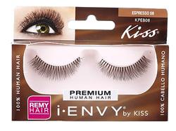 Kiss i ENVY 100% Human Brown Eyelash KPEB08