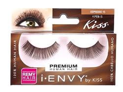 Kiss i ENVY 100% Human Brown Eyelash KPEB15