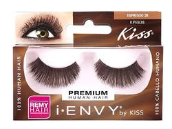 Kiss i ENVY 100% Human Brown Eyelash KPEB38