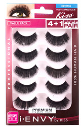 Kiss i ENVY Value Pack Human Hair Eyelashes-Juicy Volume, KPEM38