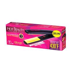 "Hot Beauty Ceramic Flat Iron 1"", HFI100"