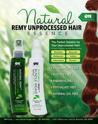 ON Natural Remy Unprocessed Hair Essence 4.5 oz