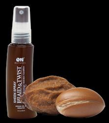 ON Natural Braid & Twsit Sheen Spray Argan Oil & Keratin 2 oz