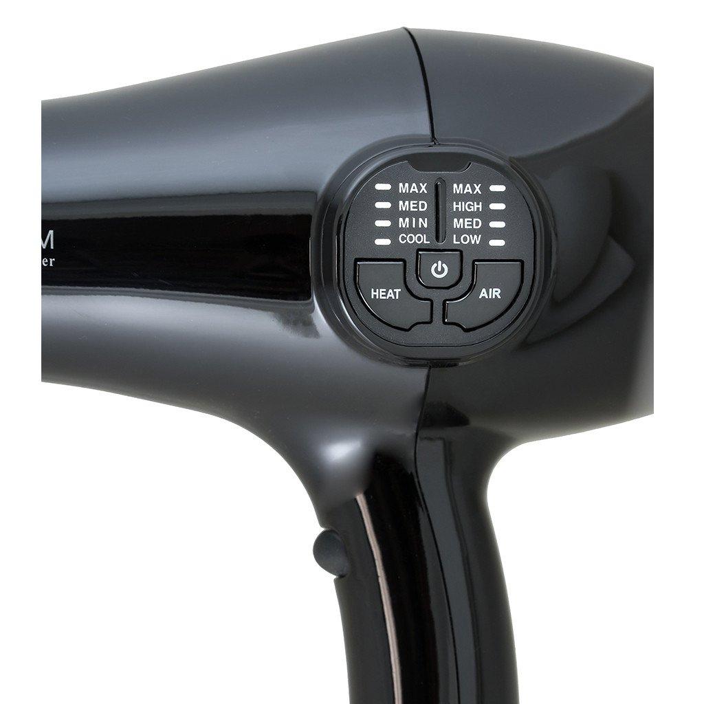 CROC Premium IC (Intelligent Circuit) Blow Dryer Black