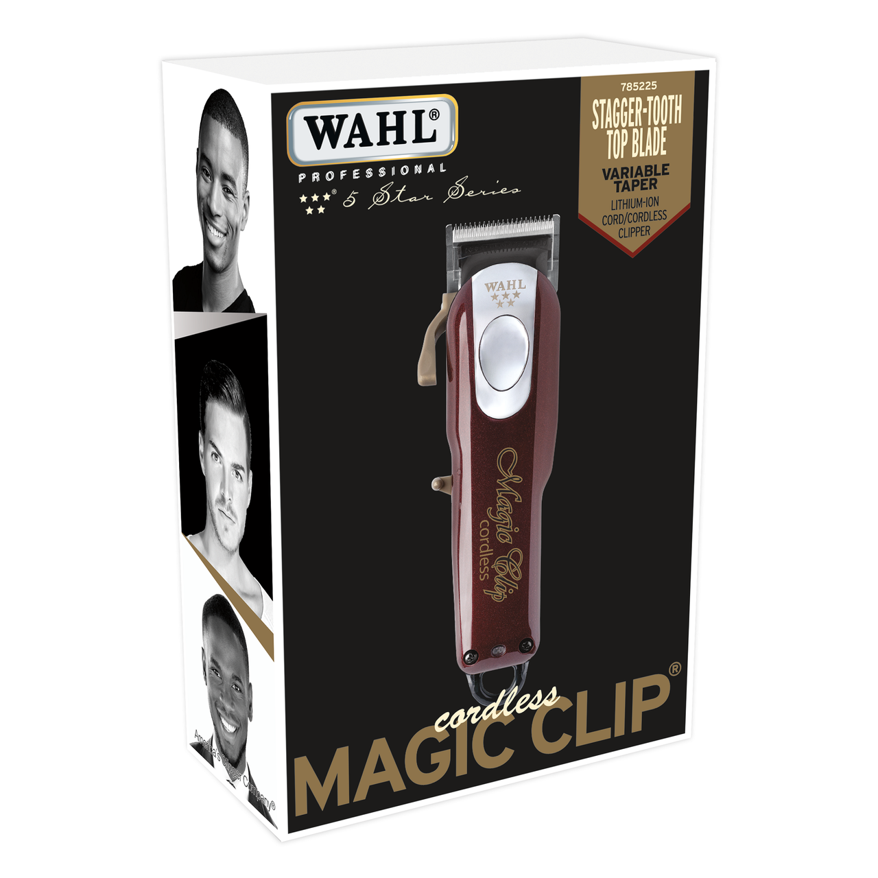 Wahl Cordless Magic Clip Clipper 5 Star Series