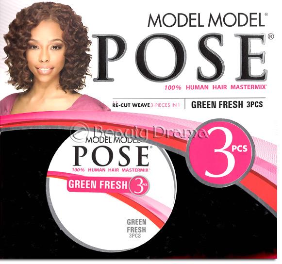 Model Model Pose 3 Green Fresh 3 Pcs