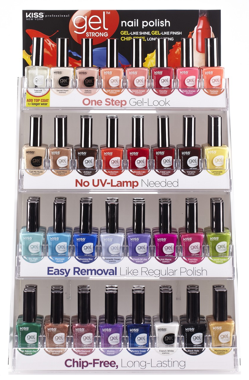 KIss New York *NEW* Gel Strong Nail Polish KNP