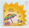 Sun Card Digital Template