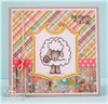 Prim Blessings Clear Stamp Set