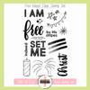 Creative Worship: Free Indeed Clear Stamp Set
