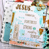 PREORDER Creative Worship: Mighty Fortress Clear Stamp Set