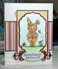 Bethany Bunny's Flower Digital Stamp