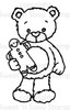 Rhubarb's Gingerbread Man Digital Stamp