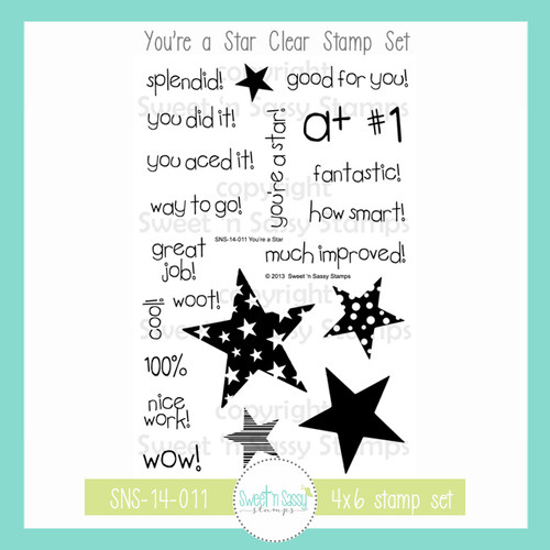You're a Star Clear Stamp Set