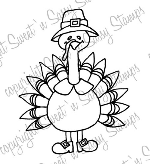 Templeton Turkey Digi Stamp