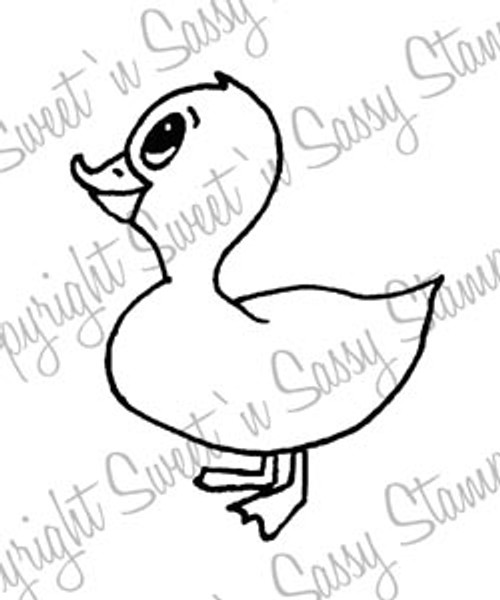 Dilbert Duck Digital Stamp