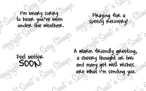 Get Well Wishes Digital Stamp