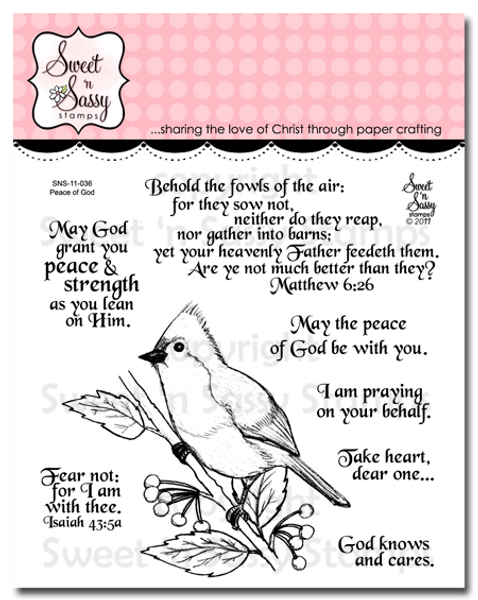 Peace of God Clear Stamp Set