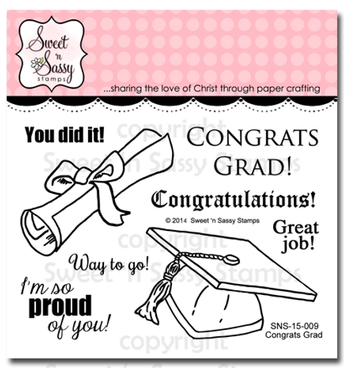 Congrats Grad Clear Stamp Set