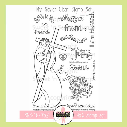 Creative Worship: My Savior Clear Stamp Set