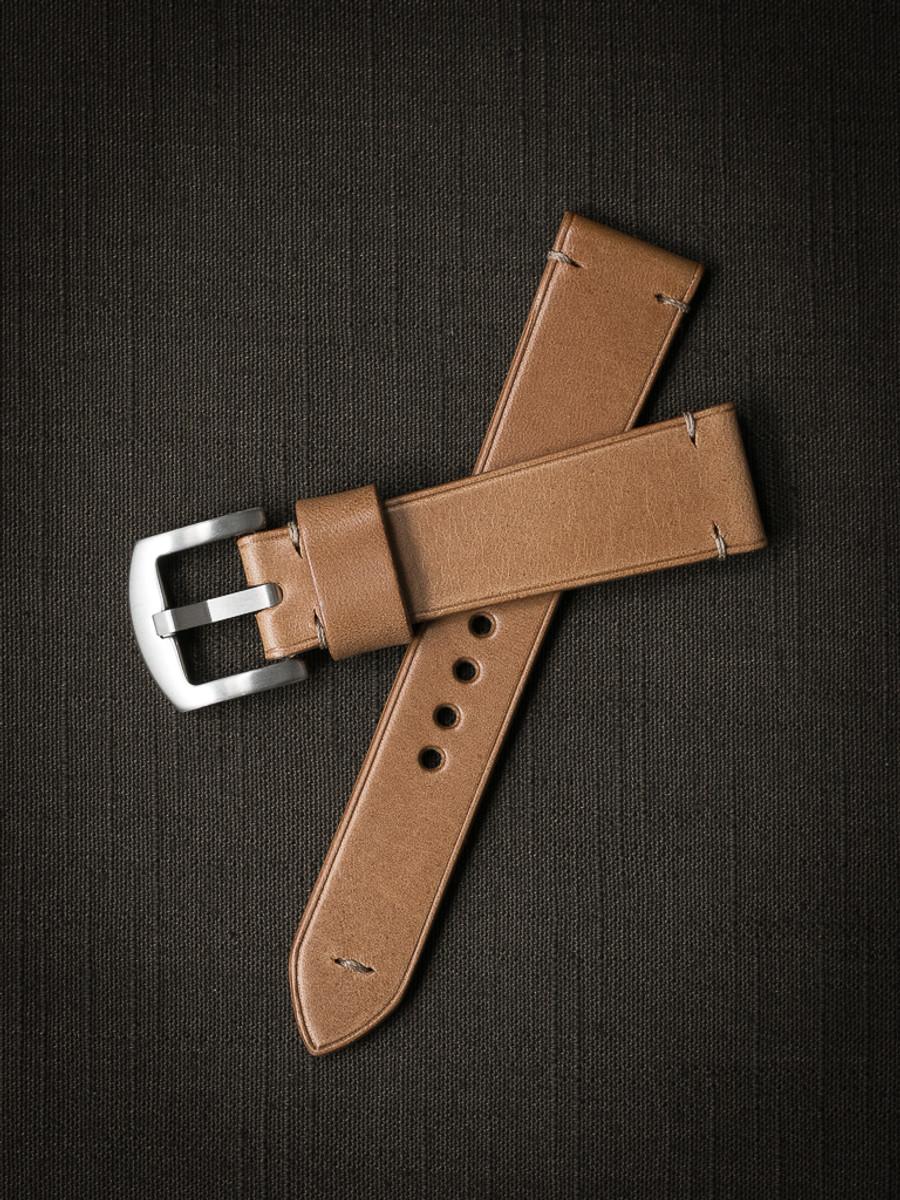 """Jensen"" Natural Leather Watch Strap"