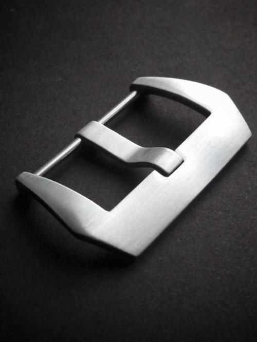 Brushed Pre-V Screw-In Steel Watch Buckle