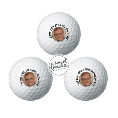 Custom Photo Golf Balls - 1 Dozen