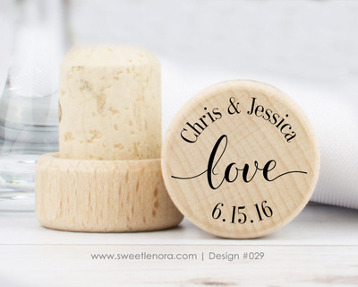 Love Wine Stopper Favors 029