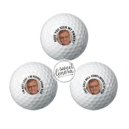 Custom Photo Golf Balls - 1 Dozen