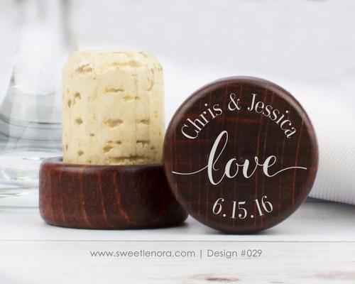 Love Wine Stopper Favors 029