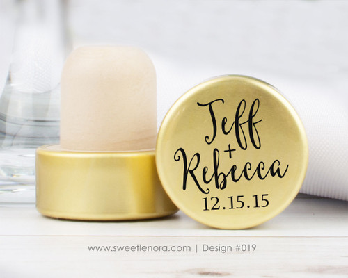 Fancy Names Wine Stopper Favors 019