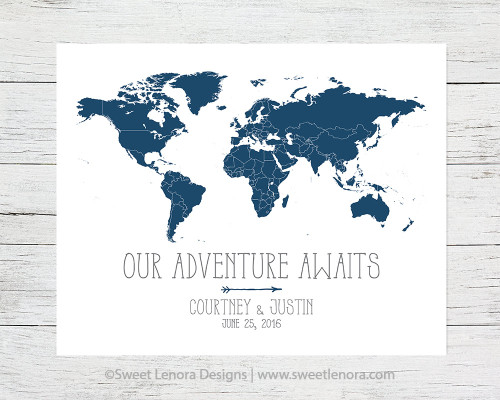 Our Adventure Map