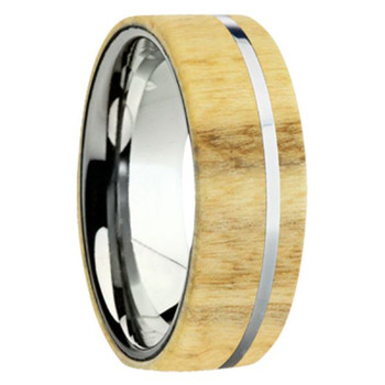 8 mm Exotic Wood in Titanium - K109M-Aspen