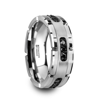 1 Men\'s Wedding Bands | Tungsten & Titanium Wedding Rings