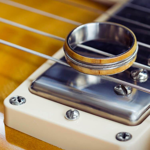 6 mm Unique Matte Finish - Wood Inlay/Guitar String - GS655M
