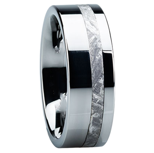meteor ring bands splendid wedding rings meteorite mens com patsveg