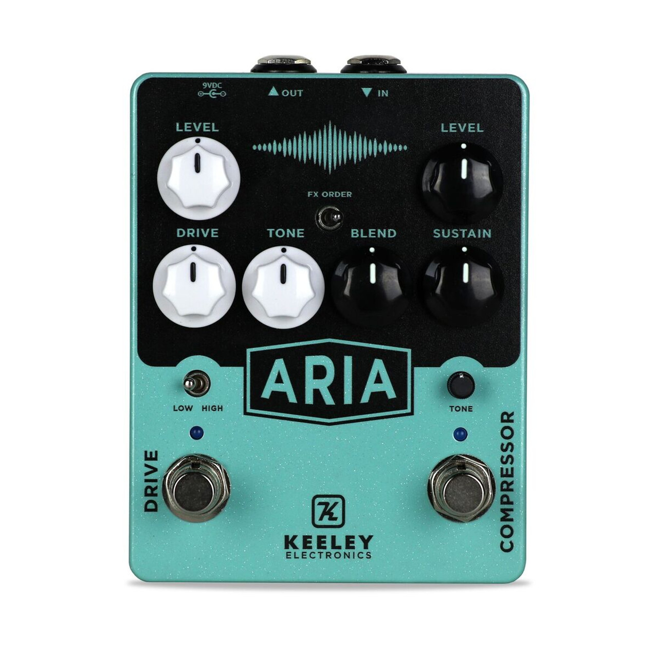 keeley aria compressor overdrive pedal the guitar store. Black Bedroom Furniture Sets. Home Design Ideas