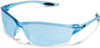 Crews Law 2 Safety Glasses with Light Blue Lens