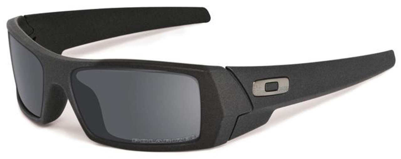 Oakley Black Iridium Polarized Gascan Lenses | CINEMAS 93