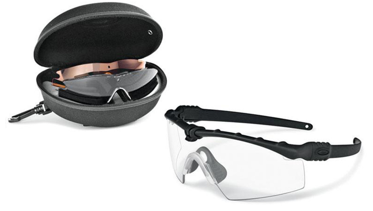 Oakley SI Ballistic M Frame 3.0 Array with Black Frame and Clear ...