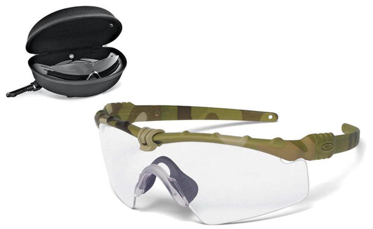 Oakley SI Ballistic M Frame 3.0 Array with Multicam Frame and Clear ...