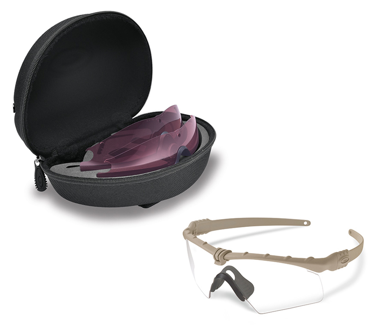 Oakley SI Ballistic M Frame 3.0 Hybrid Array with Dark Bone Frame ...
