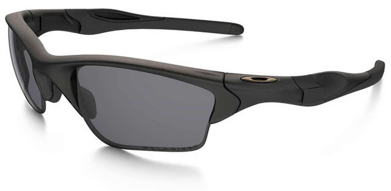 Oakley SI Half Jacket 2.0 XL with Matte Black Frame and Grey ...