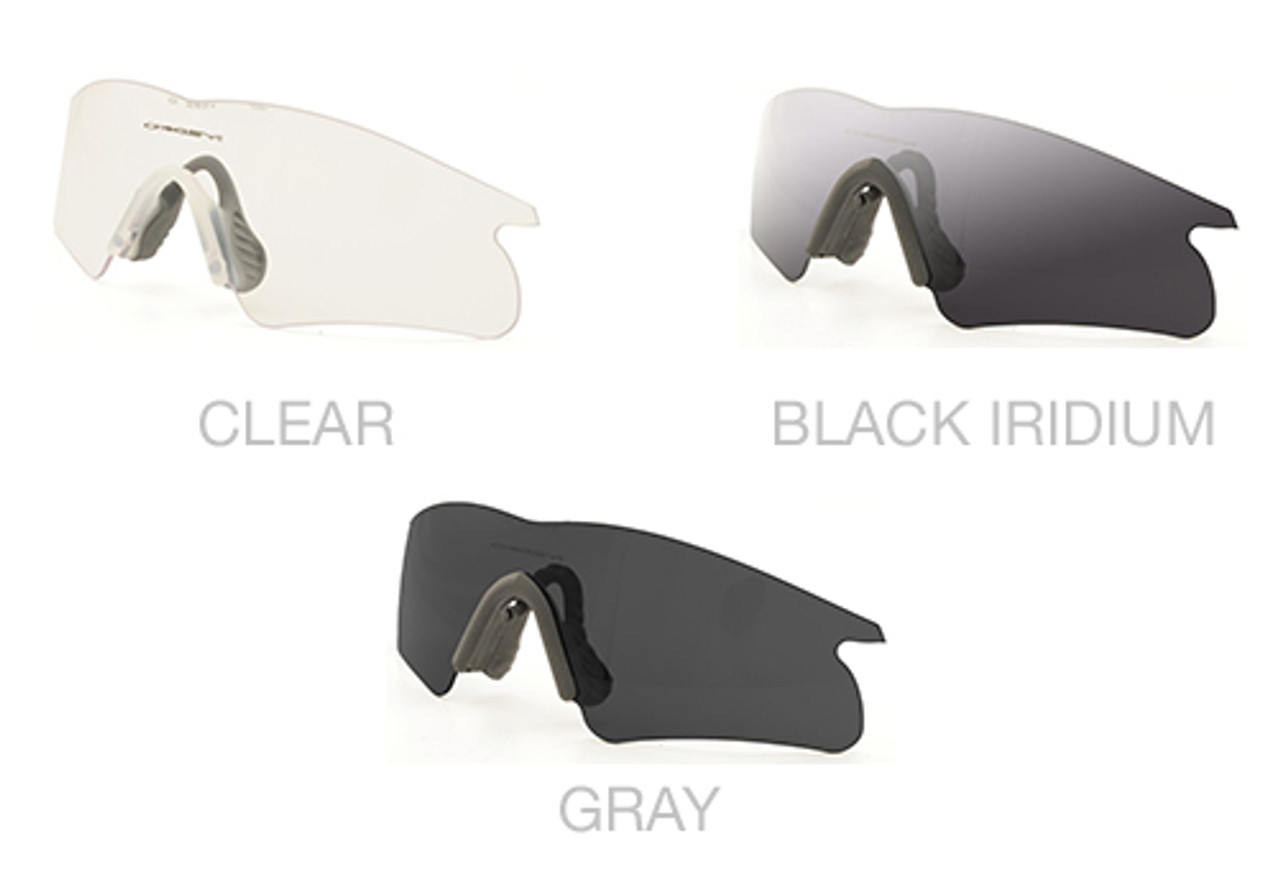 oakley m frame clear lenses