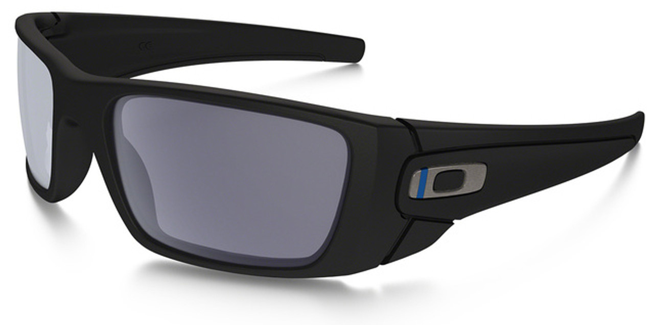 Oakley Si Thin Blue Line Fuel Cell With Black Frame And