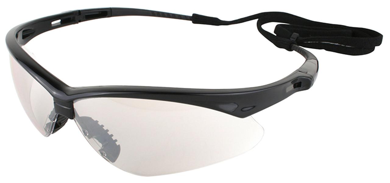 Jackson Nemesis Safety Glasses Black Frame Indoor/Outdoor Lens