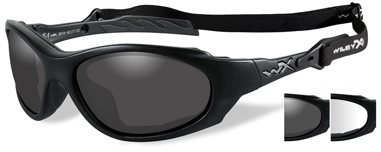 Wiley X Xl 1 Advanced Safety Glasses Kit With Grey Amp Clear